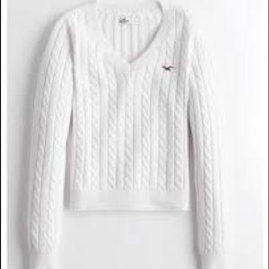 Hollister White Long Sleeve